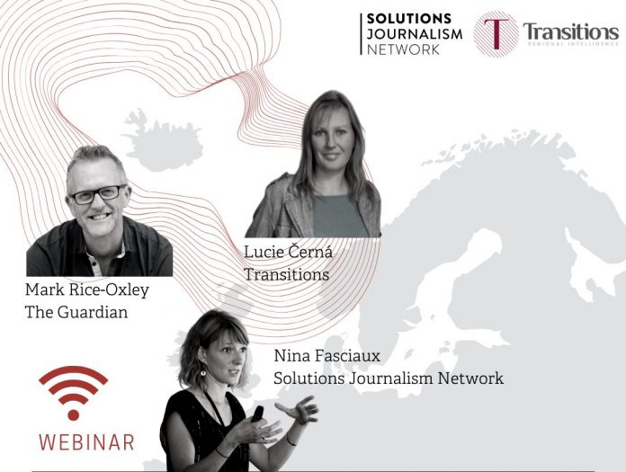 Solutions Journalism Network Transitions Online webinar